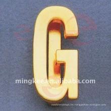 """Letra- """"G"""" Adornos del bolso (O34-672A-G)"""