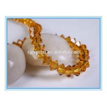 Platillo volante cristal perlas cristal perlas hebras