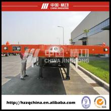 Reboque do recipiente (HZZ9400TJZP) para compradores