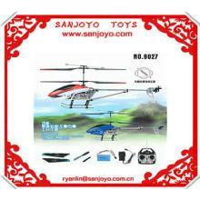 Helicóptero del ejército del juguete DF-9027-1 helicóptero del rc del canal 3 con el hotseller del girocompás !!