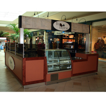 Indoor Coffee Kiosk for Supermarket