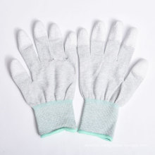 Nylon/Polyester Gloves PU Coating on Palm and Fingers
