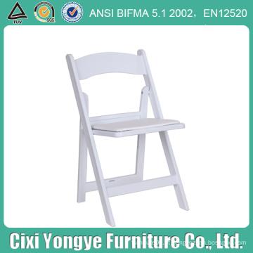 Cadeiras de dobradura da resina do restaurante para o uso da união