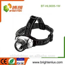 Venta al por mayor de China más barato mult-función 3 modo ABS plástico brillante 1 vatio llevó linterna linterna