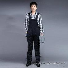 Безопасность 65% полиэстер 35%хлопок длинный рукав комбинезоны с Нагрудниками и лямками спецодежды в целом (BLY4001)