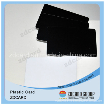Klare PVC-Kartenplastikkarte