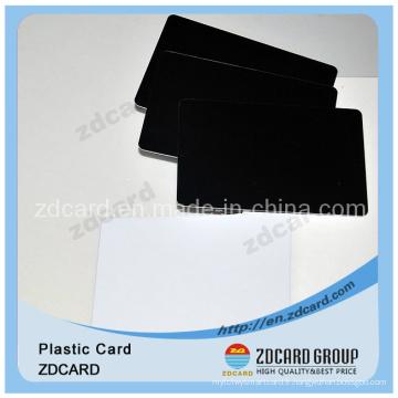 Carte PVC transparente Carte plastique