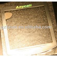 Fertigen Sie Etiketten selbstklebendes Metall, Metall Etikett für Kleidungsstück