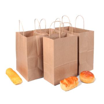 Saco de papel personalizado Kraft do saco de papel do alimento