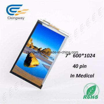Monitor de pantalla táctil transmisivo de 7 '1024 * 600