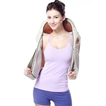 3D best neck shoulder back massager with heat