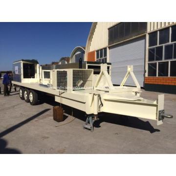 Línea de producción de láminas de techos largos y largos