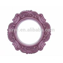 Popular style decorative fancy plastic curtain rings for curtain
