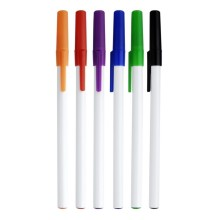 Cheaper Price White Barrel Pen