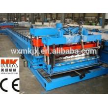 Farbiges glasiertes Metall Dachziegel-Rollenformungsmaschinen