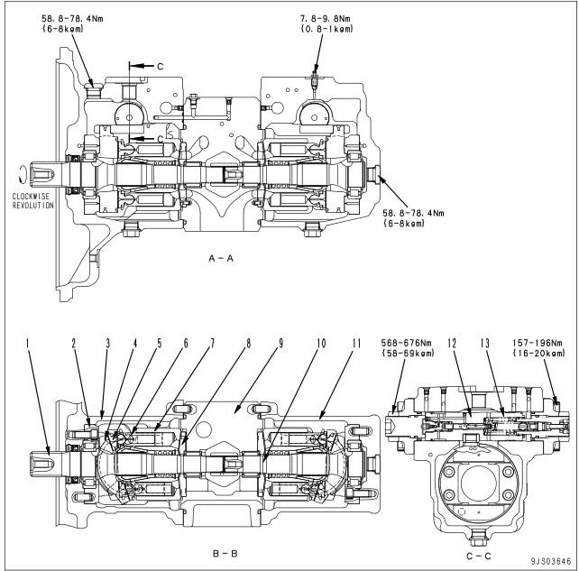 PC200-8 Main Pump