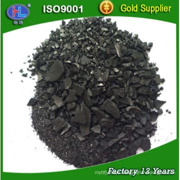 Carvão ativado de casca de coco cru de alta qualidade