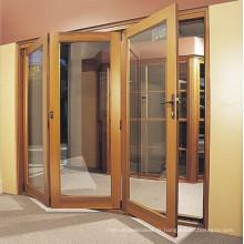 Porte pliante en verre tempéré de haute qualité