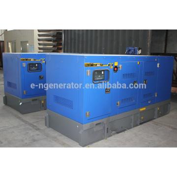 Бесшумный дизельный генератор мощностью 132 кВт с двигателем CUMMINS