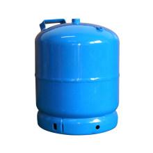 Cilindro de gás GLP e tanque de aço (AS-LPG-3KGB)