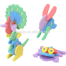 DIY children handmade 3D animal model puzzle EVA assembled toys