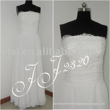 2011 newest arrival low price free shipping high quality Real chiffon bridal dress JJ2320