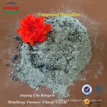 Polvo de desoxidante compuesto utilizado en fundición de hierro como agente desoxidante