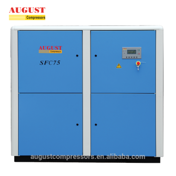 Stationary Air Cooled Screw Silent Air Compressor
