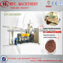 wpc profile wall cladding, garden furniture,fence, panel wpc extrusion machine