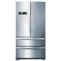 """36""""French Stainless Steel Door Refrigerator with Bottom Freezers"""