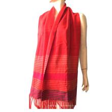 100% кашемир цвета полоса шарф