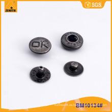 Elementos de sujeción personalizados de resorte para prendas de vestir BM10134
