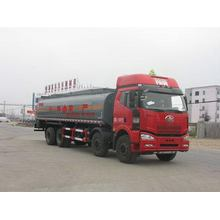 JIEFANG FAW 8X4 Flammable Liquid Transport Tanker