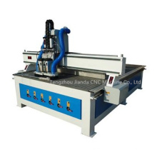 Hot Sale Double Spindle CNC Router with Tool Changer