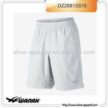 Newest elastic waist men tennis shorts manufacturer