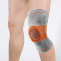 Fitness training silicone knee support sleeve