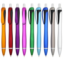 Metallic Plastic Promotion Ballpoint Pen