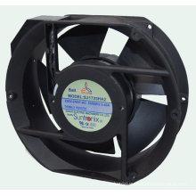 Waterproof Ip44 25w Sleeve Or Ball Bearing 5 Blade 172mm Industrial Cooling Fan Sj1725 Ha2 -e