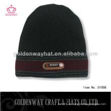 Sombrero del xxl del invierno para el sombrero vendedor caliente de la gorrita tejida del mens