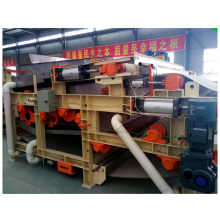 continuous horizontal vacuum belt filter press