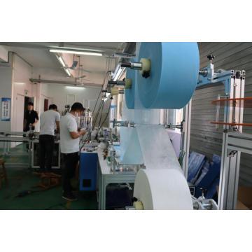 Papier- und Kunststoffverpackungsmaschine für medizinische Maske