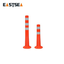 Made in China Orange Flexible PU Plastic Warning Post