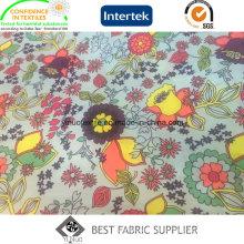 100 Polyester Transferdruckgewebe für Damen Daunenjacke