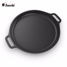 Ebay Hot Sale Cast Iron Pizza Pan Bakeware