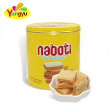 350g Can Packing Cheese Flavor Cube Wafer Biscuit