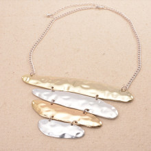 Multi Silver Gold Plated Alloy Women Pendant Necklace