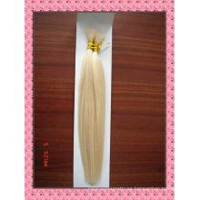 buena calidad pelo humano a granel / cabello humano trenza