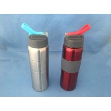 Edelstahl Wasser Sportliche Flasche mit Flip Deckel