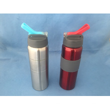 Stainless Steel Water Sporty Bottle with Flip Lid