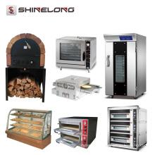 Fournitures de boulangerie de grandes machines de fours électriques industriels de gaz de restaurant commercial